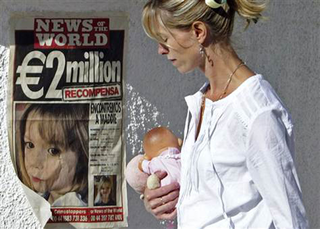 mccann van Madeleine McCann: six or eight British cleaners in a mysterious white van