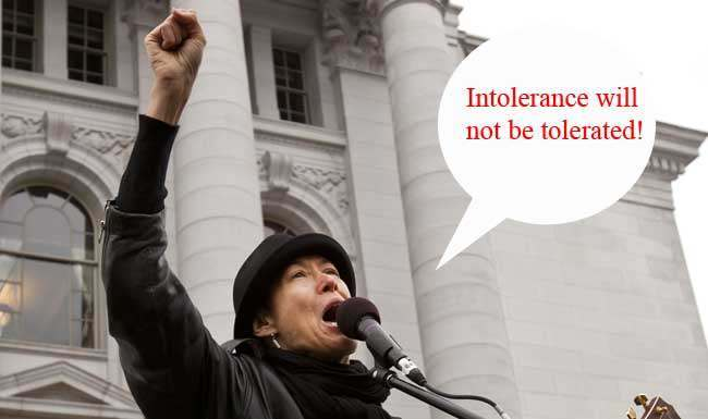 michelle shocked Audio: tolerant Michelle Shockeds anti gay message to the intolerant