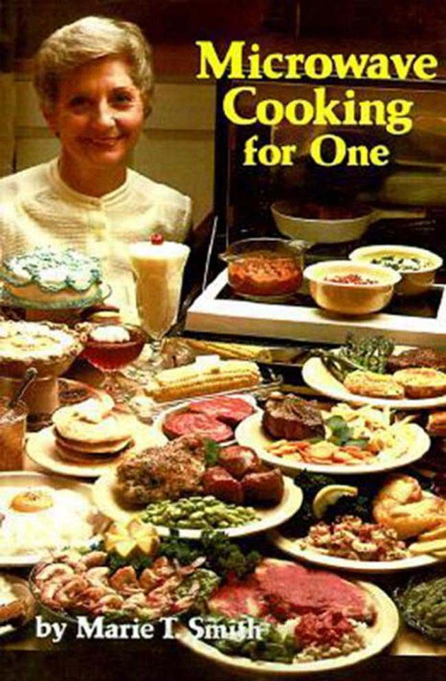 microwave cooking for one Is Microwave Cooking for One the saddest book ever written?