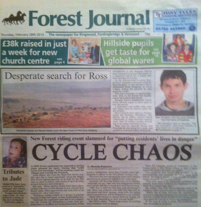 new forest journal