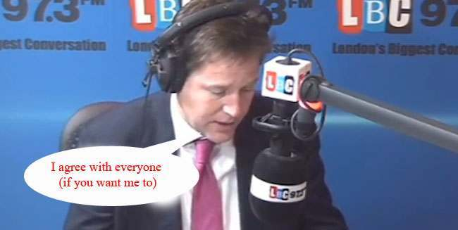 nick clegg prison copy Nick Clegg wont be visiting his friend Chris Huhne in prison