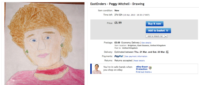 peggy eBay seller thedoctorwhoguide2012s 10 best offers (these are fantastic)