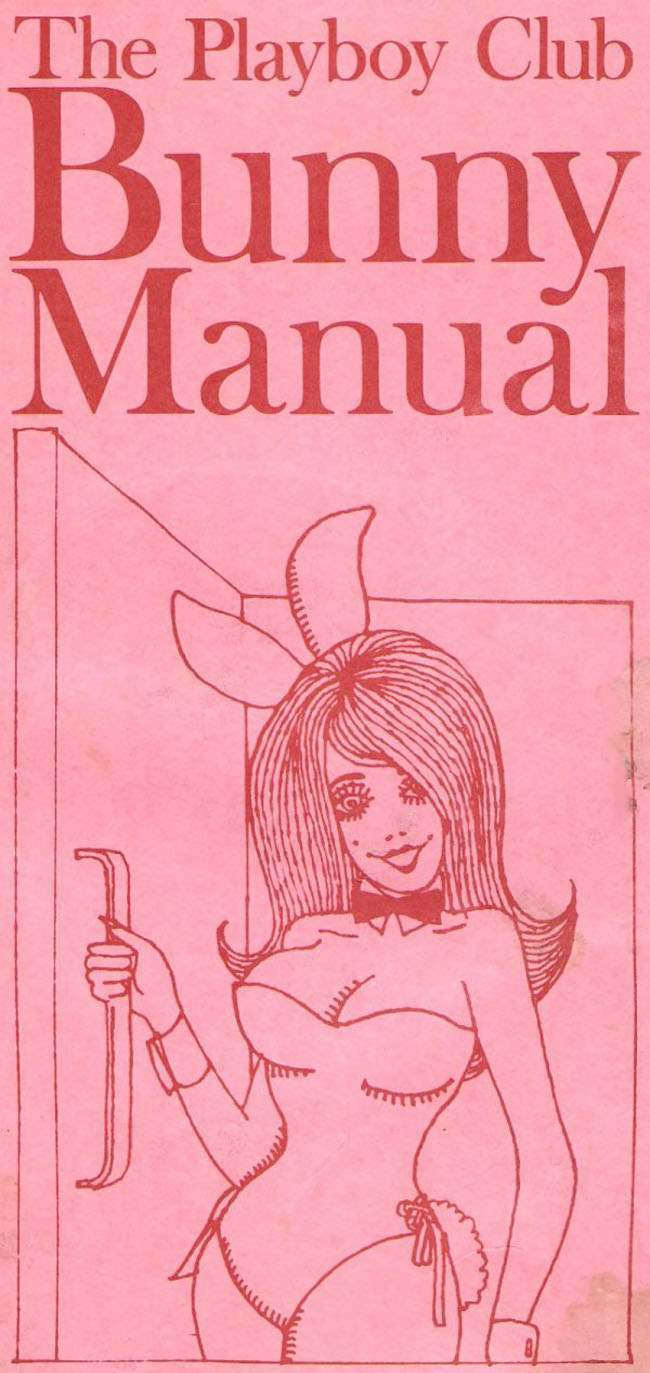 playboy 1968 The Playboy Bunny Club Manual 1968 (know your rights, Bunnies)
