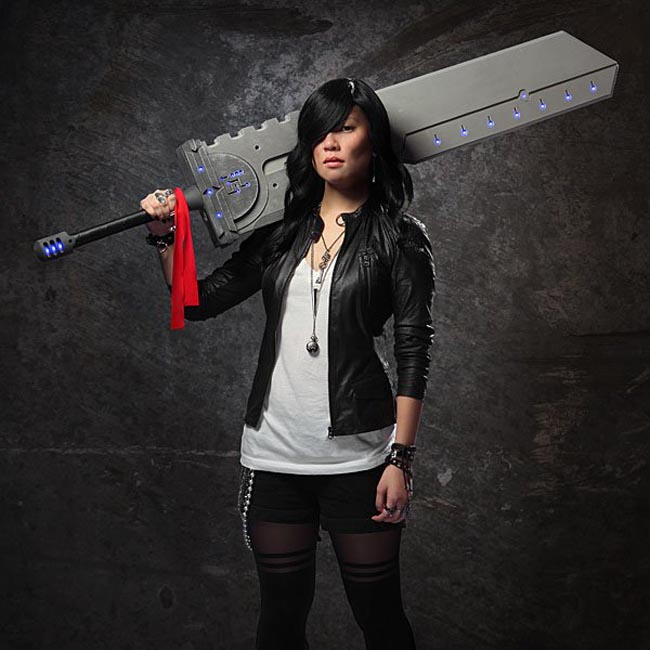 titan sword 1 The gigantic foam Cosplay Titan sword with lights demands fear and respect