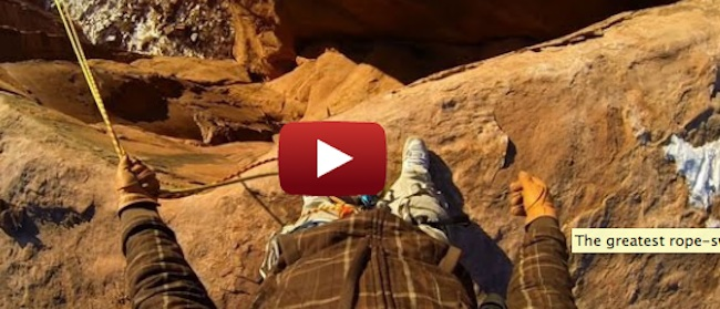 utah rope swing The greatest rope swing in the whole world (Video)
