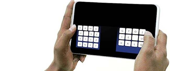 KALQ New Kalq keyboard streamlines English language into a few easy to text words
