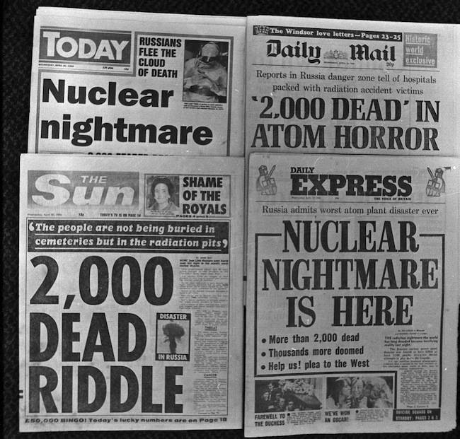 Disasters - Chernobyl Nuclear Accident 1986