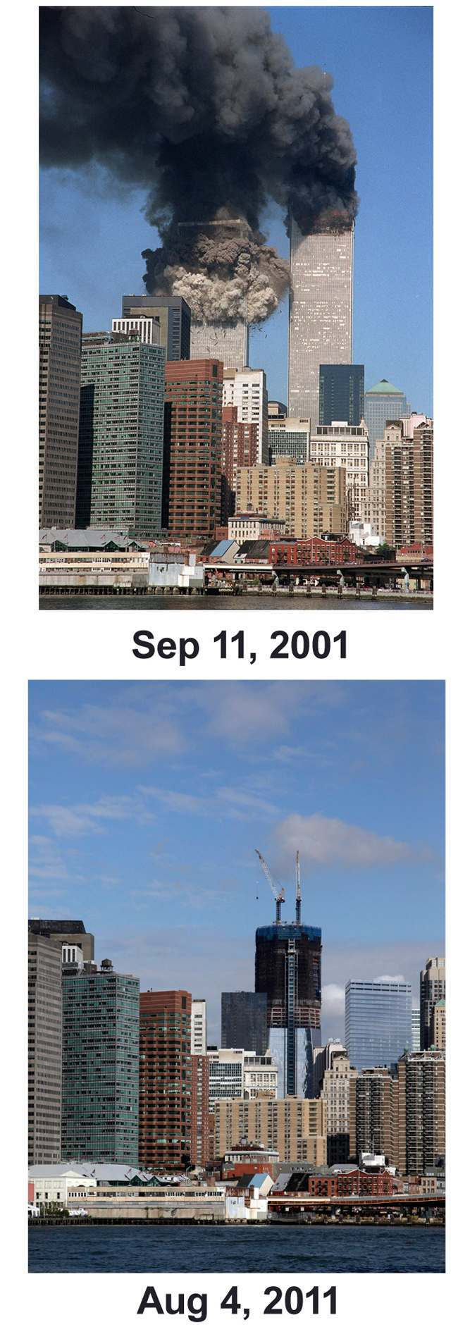 Sept 11 Then And Now Combo