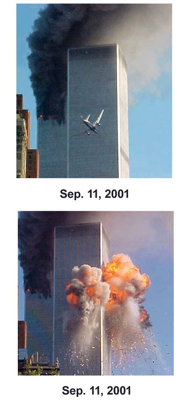 Sept 11 Before and After Combo