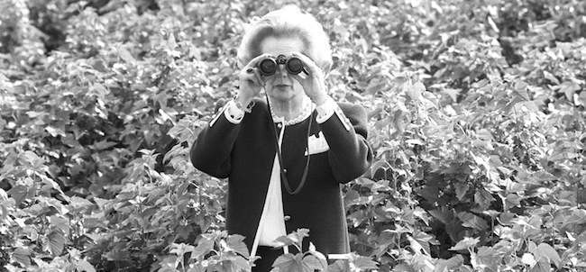 Politics - Margaret Thatcher - Appleford Farm, East Anglia