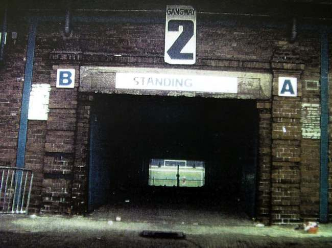 PA 1309620 Hillsborough: In 1981 Tottenham Hotspur not Liverpool fans were the white working class scum in the cage