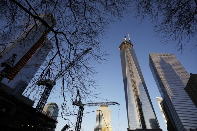 PA 15909675 In epic photos: One World Trade Center rises from Ground Zero New York