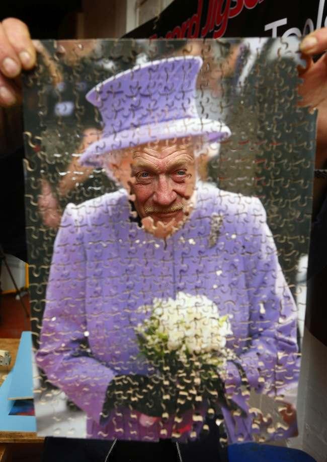 Jubilee themed jigsaw