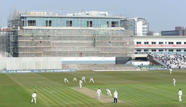 Cricket - LV=County Championship - Division Two - Day One - Lancashire v Worcestershire - Emirates Old Trafford