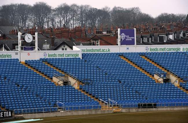 Cricket - LV=County Championship - Division One - Day One - Yorkshire v Sussex - Headingley