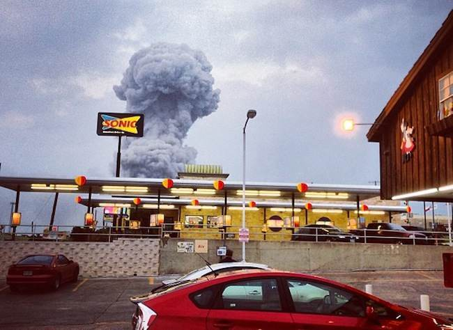 Fertilizer Plant Explosion - Texas