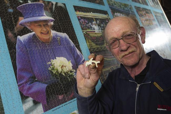 Man makes Jubilee themed jigsaw