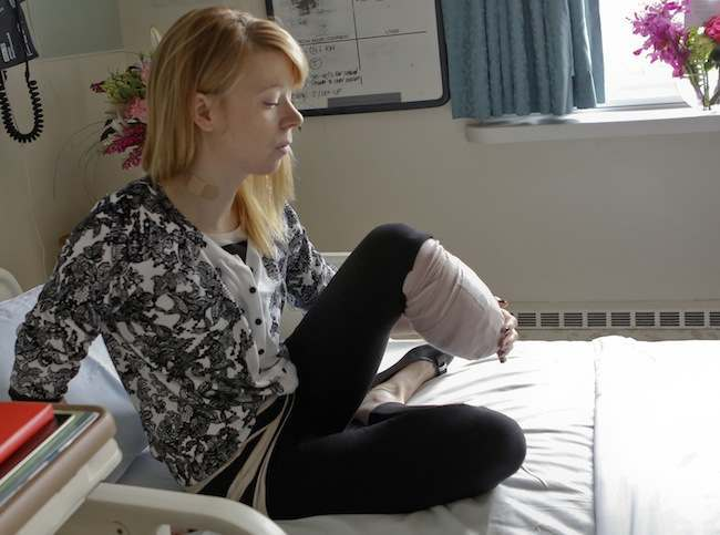 Boston Marathon Victim Vows
