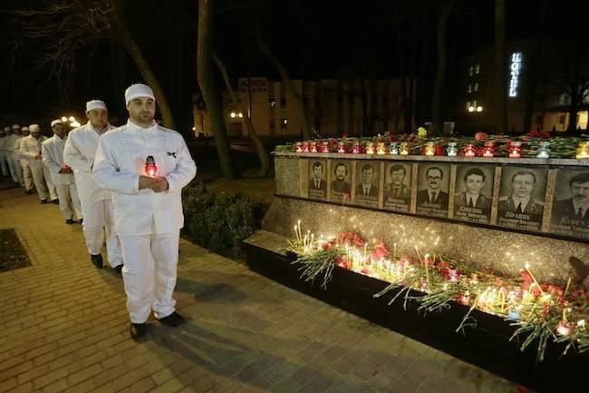 Ukraine Chernobyl Anniversary