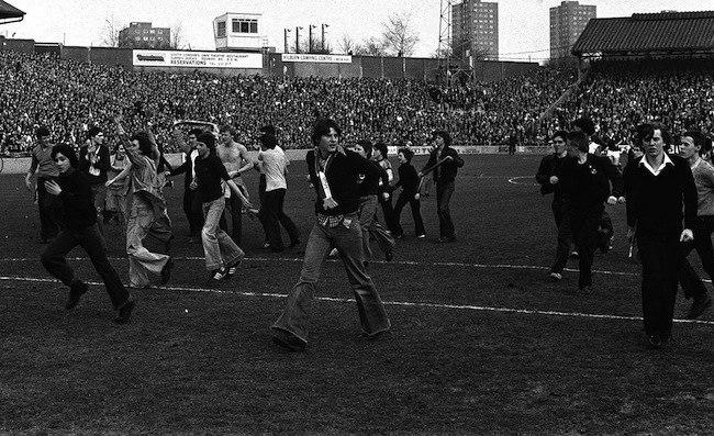 Millwall Fans Vs Police