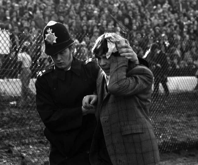 Police in Action at Chelsea.
