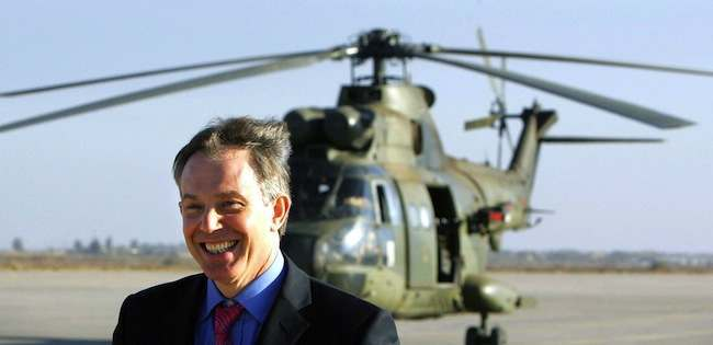 Tony Blair - Iraq visit