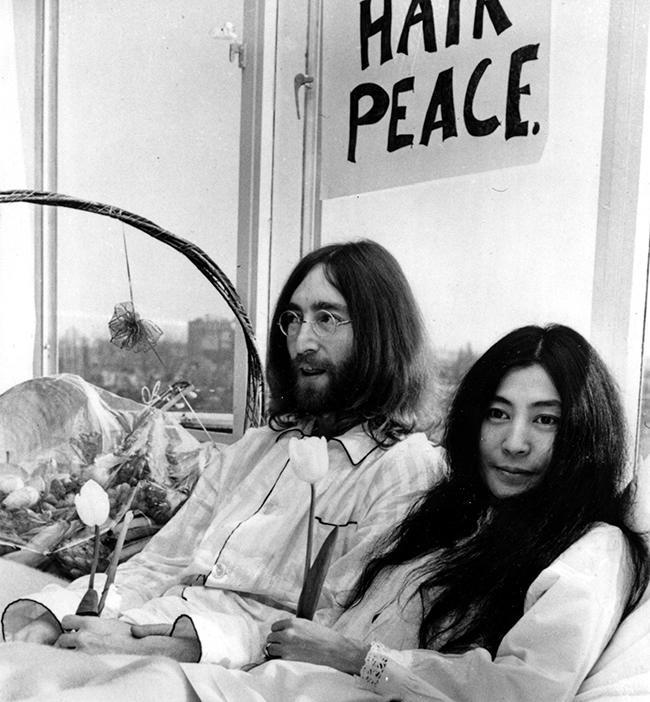 LENNON ONO BED-IN AMSTERDAM