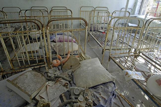 PA 3413511 Chernobyl: the words worst nuclear accident in photos   then and now