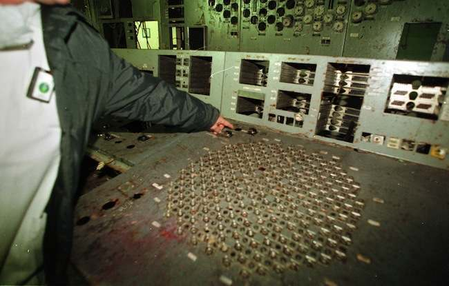 PA 3423140 Chernobyl: the words worst nuclear accident in photos   then and now