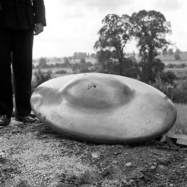 PA 5909302 In 1967 five flying saucers landed in Somerset and across southern England