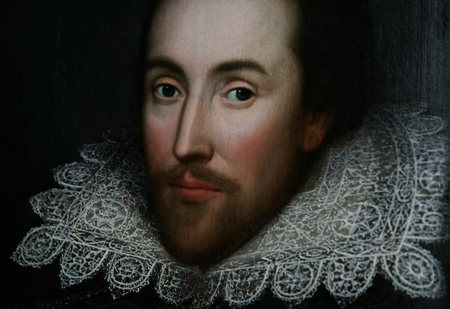 BRITAIN SHAKESPEARE PORTRAIT