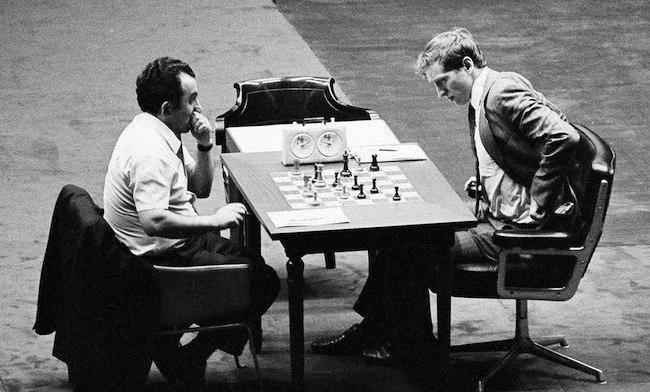 Chess Petrosian Fischer 1971