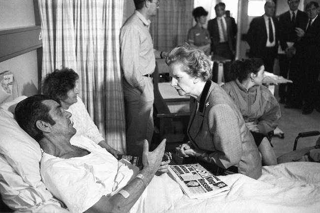 Hillsborough Disaster - Margaret Thatcher Visit - Northern General Hospital - Sheffield
