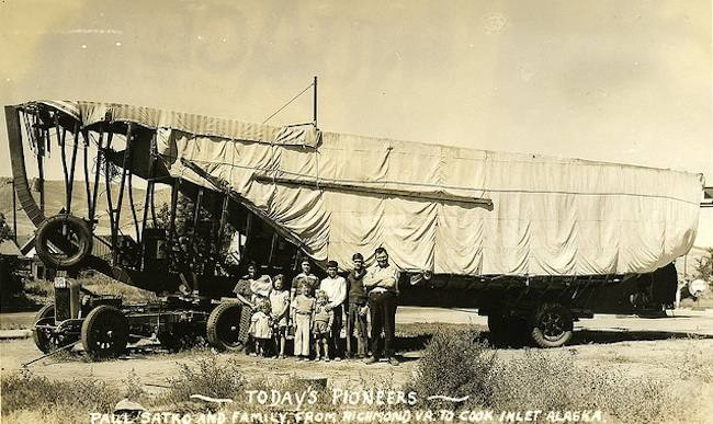 alaska ark 1 In pre War America Paul Satko and his family sailed their Ark of Juneau from Virginia to Alaska