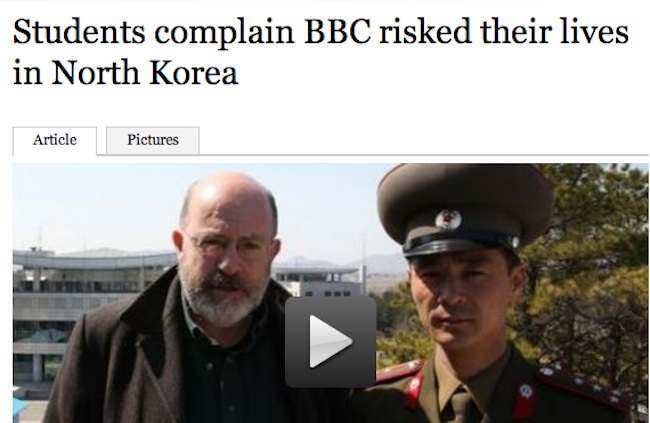 bbc north korea lse