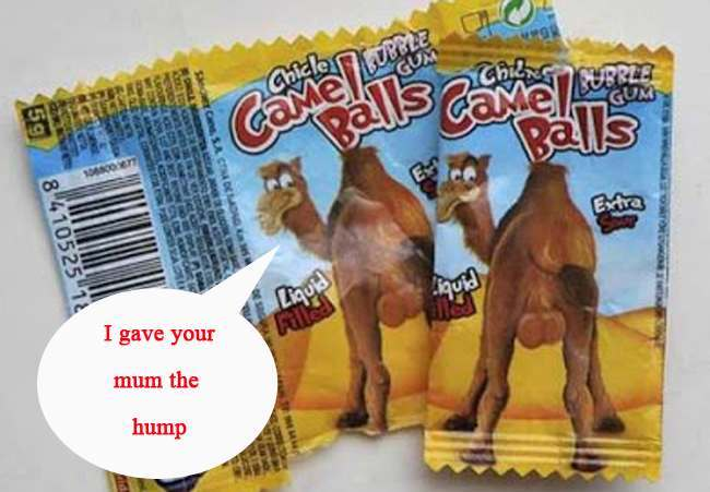 camel balls copy Mum assures that her daughter is forever associated with Camel Balls