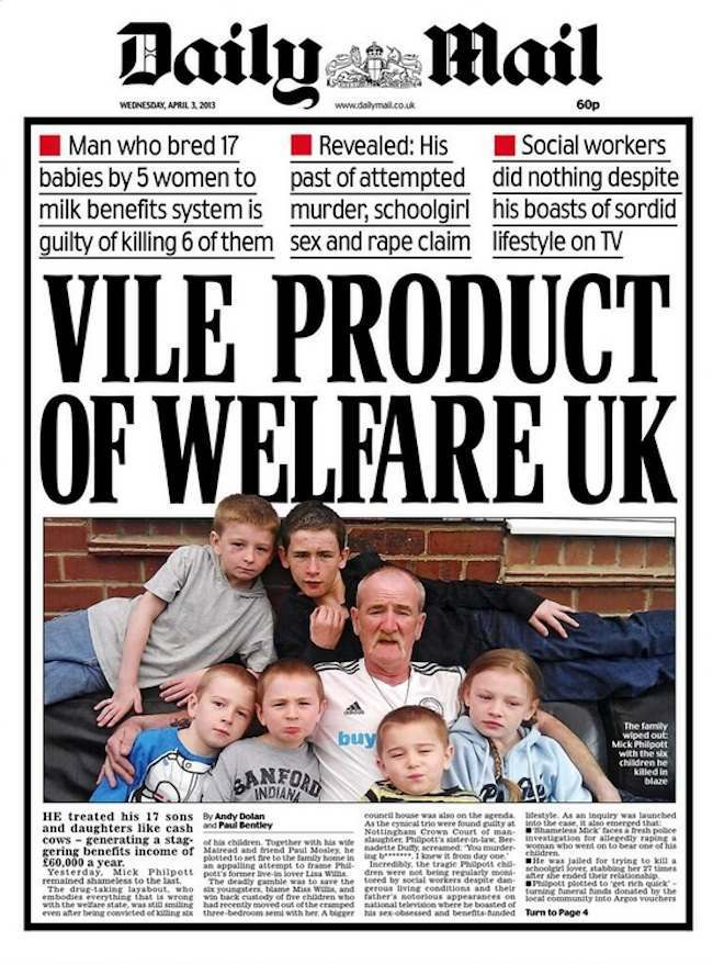 mick philpott daily mail