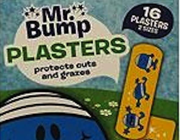 mr bump plasters Apology of the week: the Sun reviews the Real life Mr Bump 