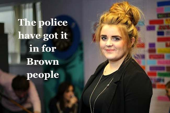 paris brown Paris Brown: Kent police make an example of their youth heroine
