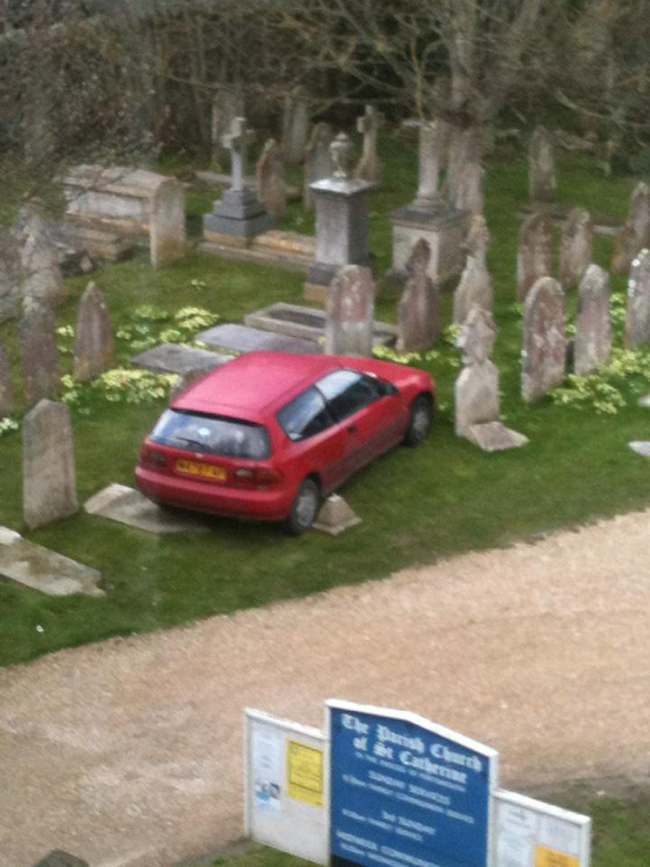 parking graves isle of wight