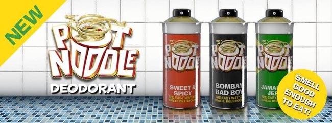 pot noodle smell