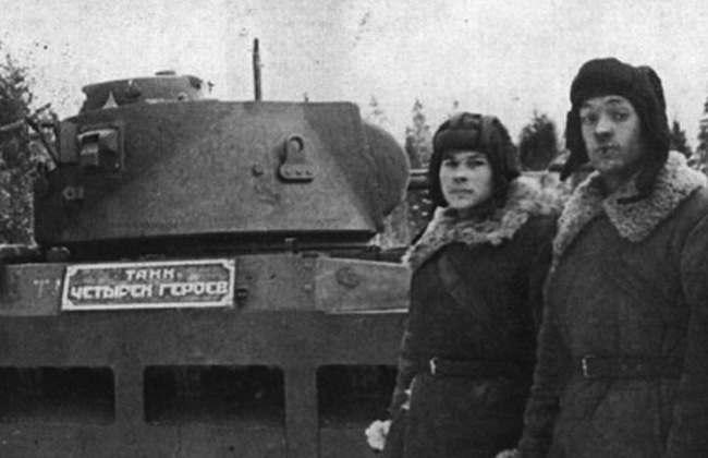 russian tank driver
