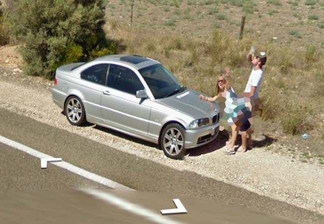 street view 11 Couple caught having sex on Street View (5 of the Best)