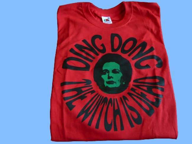 thatcher ding dong