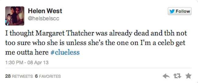 who is maggie thatcher 10