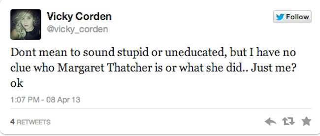 who is maggie thatcher 12
