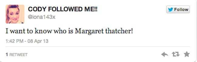 who is maggie thatcher 8
