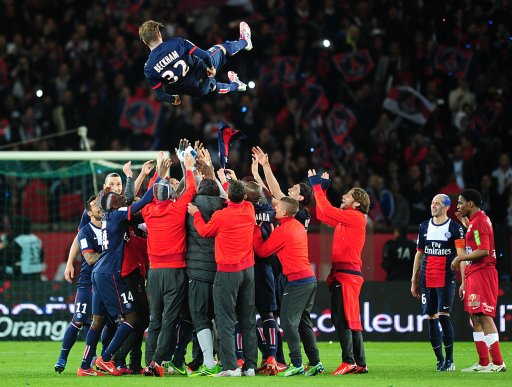 Soccer - Ligue 1 - Paris Saint Germain v Stade Brestois - Parc de Princes