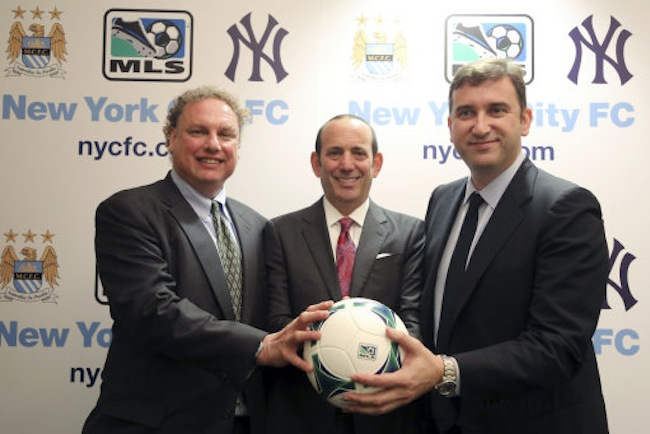 MLS Yankees Man City Soccer