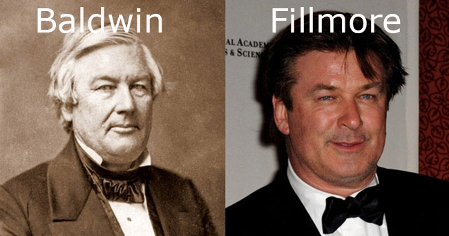 Alec Baldwin is Fillmore president